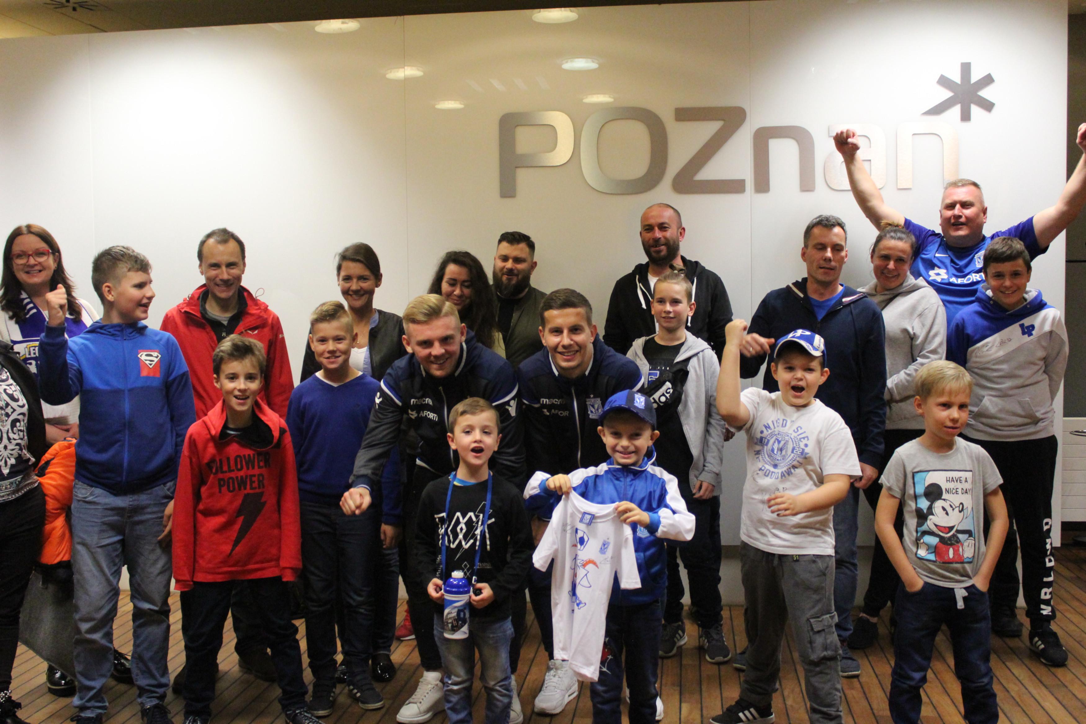 Zwiedzanie Stadionu Lecha Poznań